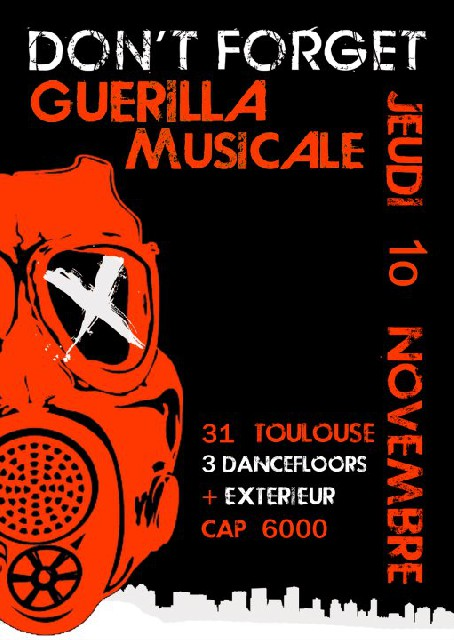 Don't forget Guerilla Musicale