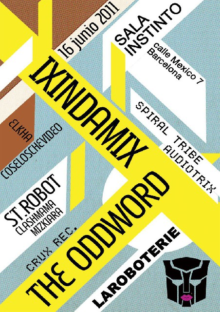 IXINDAMIX THE ODDWORD